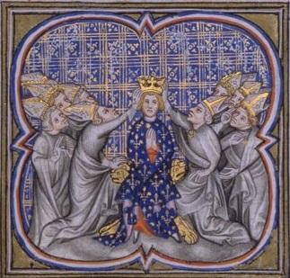 Couronnement de Louis IV d'Outremer