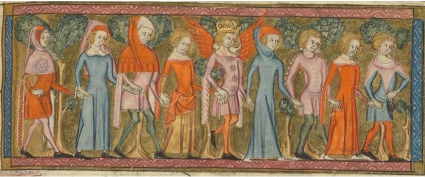 Guillaume de Lorris et Jean de Meung, Roman de la Rose Paris, XIV