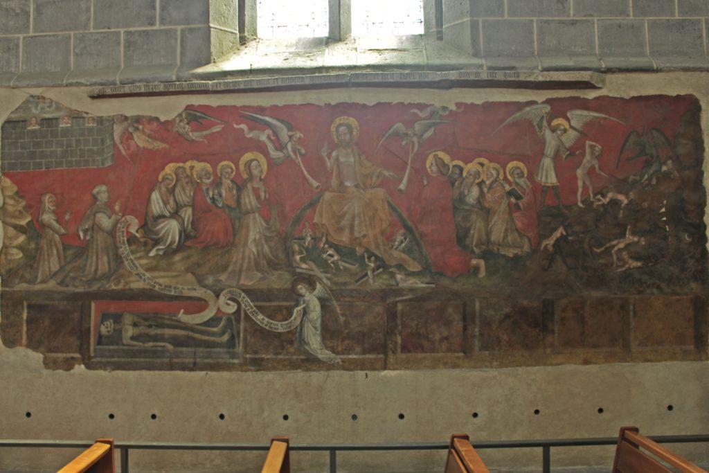 les peintures murales de la collégiale d'Ennezat