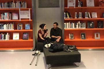 Enregistrement avec Benoît à la Gaîté Lyrique (octobre 2018)