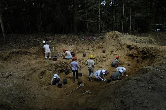 Les fouilles du Repaire de Vaulry
