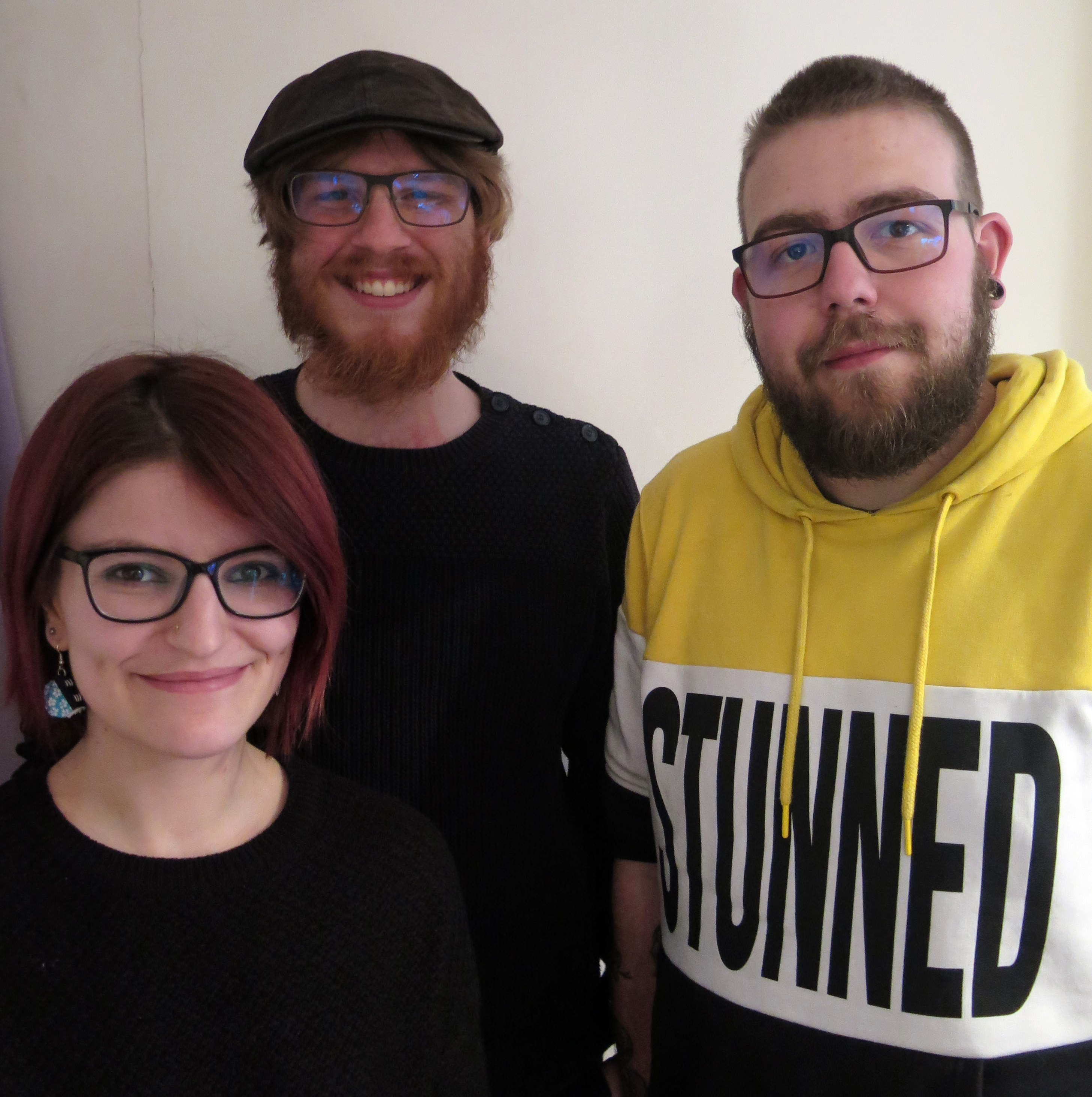Les trois débateurs de cet épisode : Justine, Ilan et Guillaume