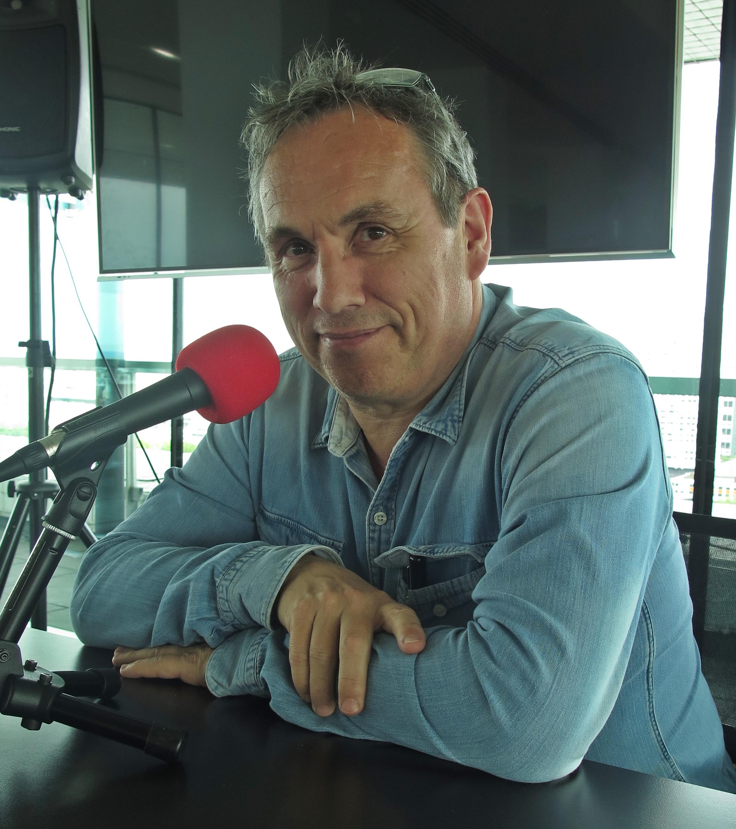 Emmanuel Laurentin à la Maison de la Radio
