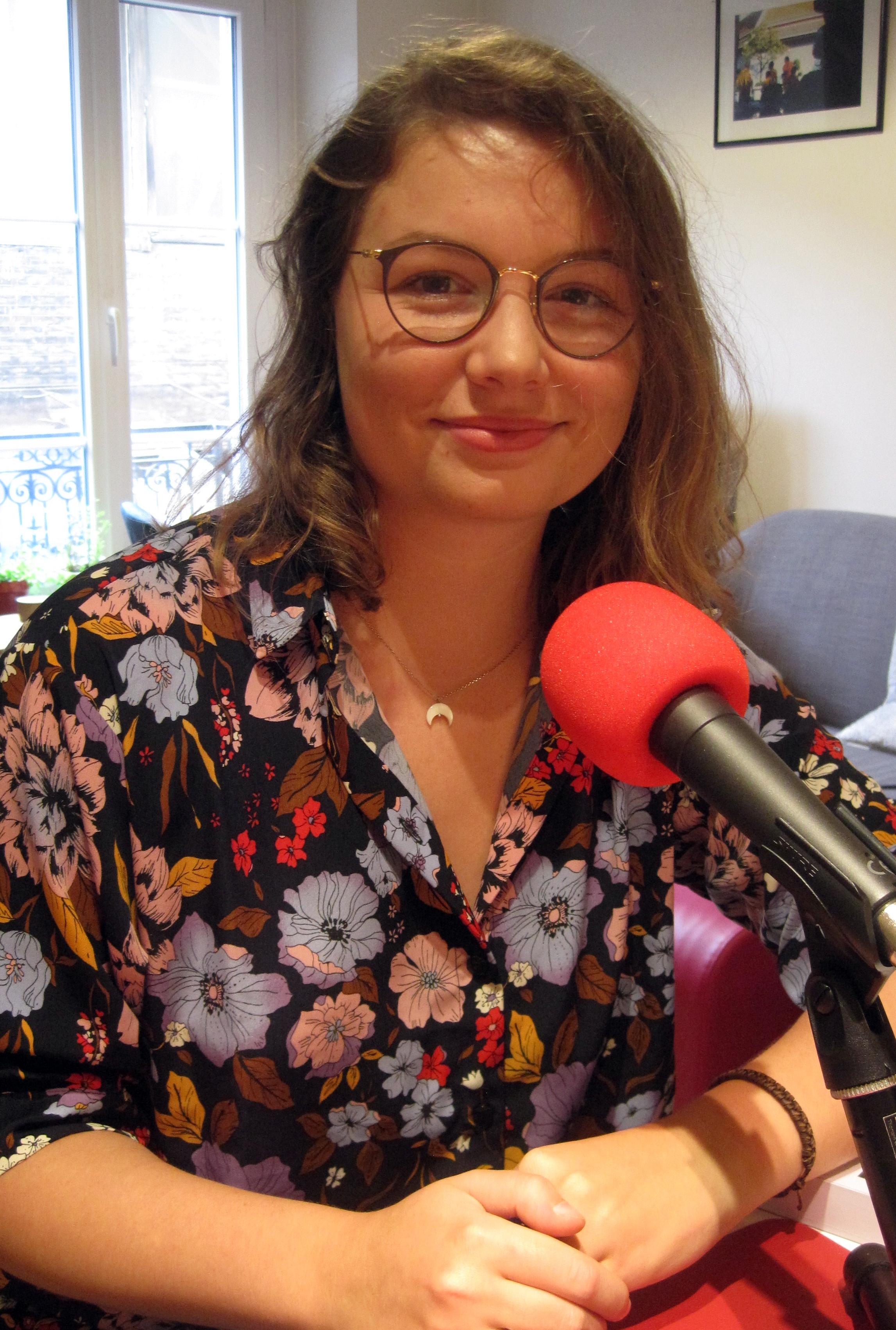 Elise Retoré au micro de Passion Modernistes