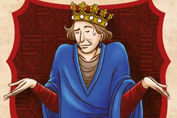 Jacques II de Bourbon imaginé par l'illustratrice Din