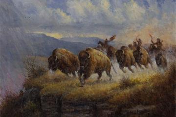 Gerry Metz, «The Buffalo Jump», 2016
