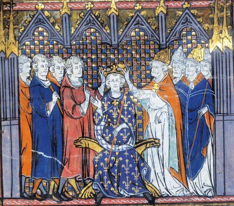 Le sacre de Hugues Capet