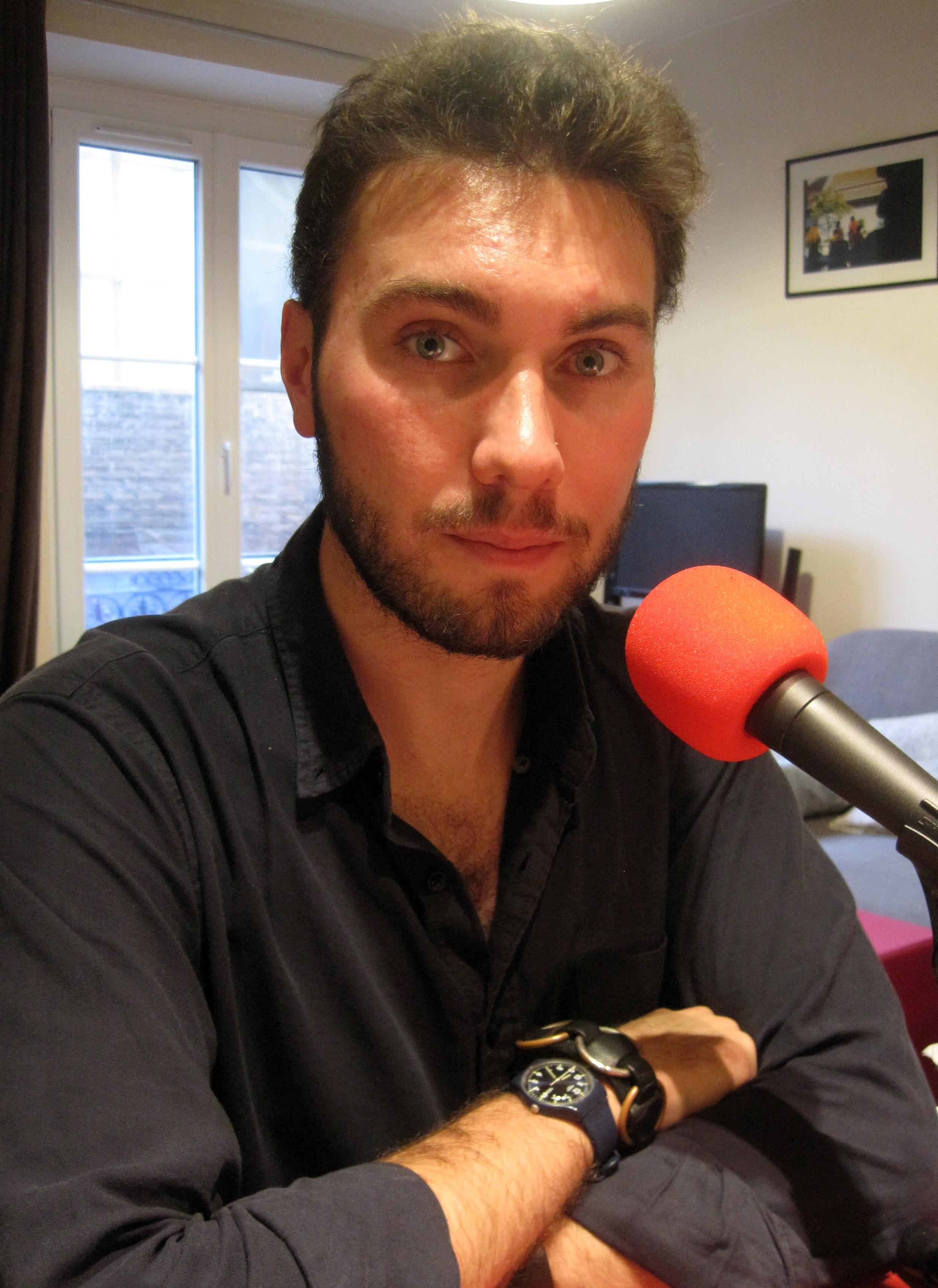 Albert Leparc au micro de Passion Médiévistes