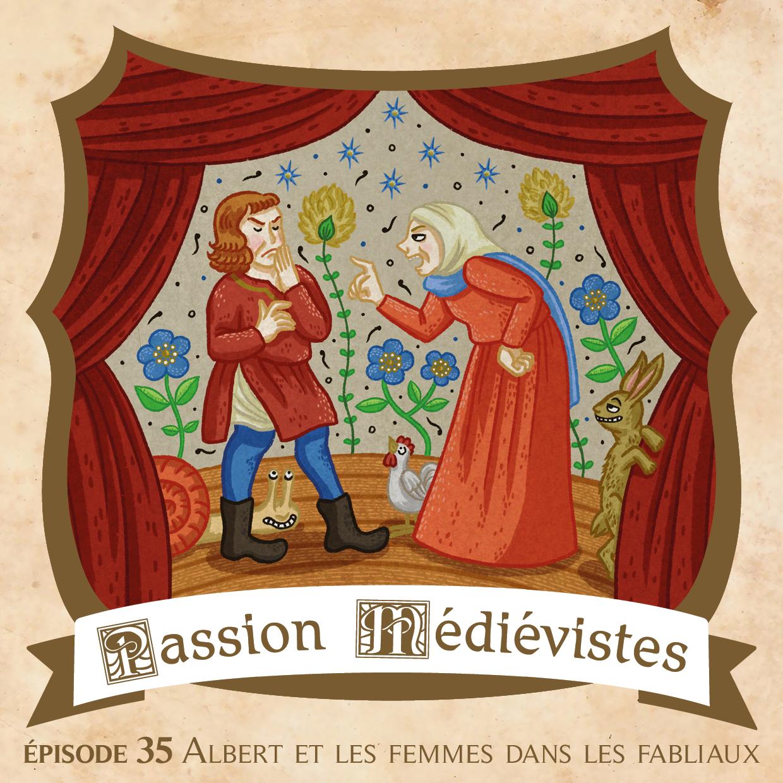Illustration de l'épisode 35 réalisée par l'artiste Din