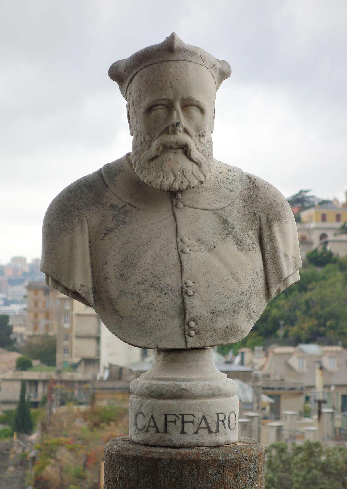 Caffaro di Rustico da Caschifellone (buste à Gênes)