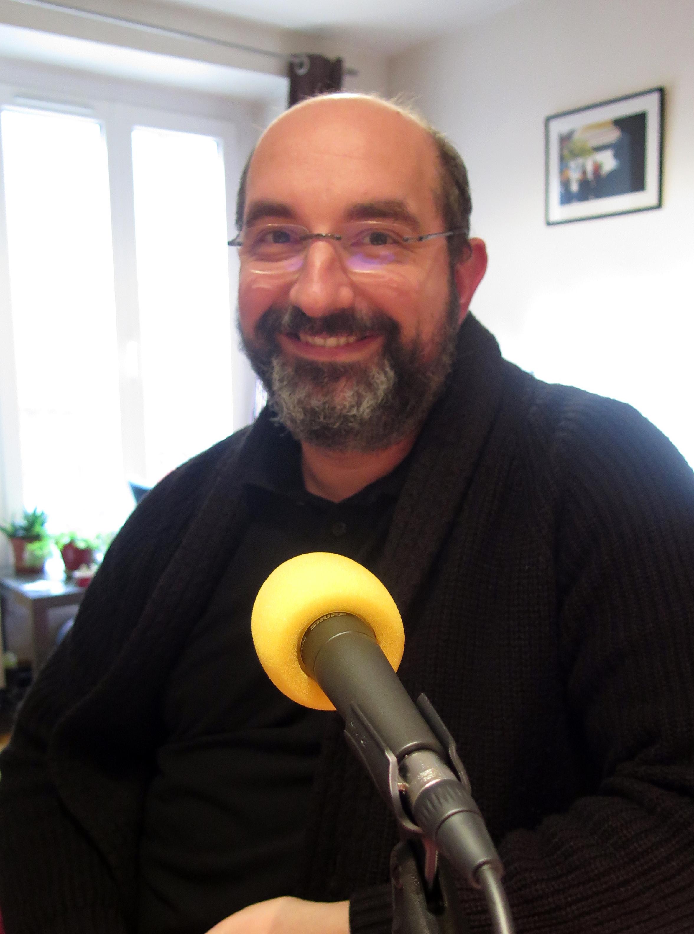 Sébastien-Abel Laurent au micro de Passion Médiévistes