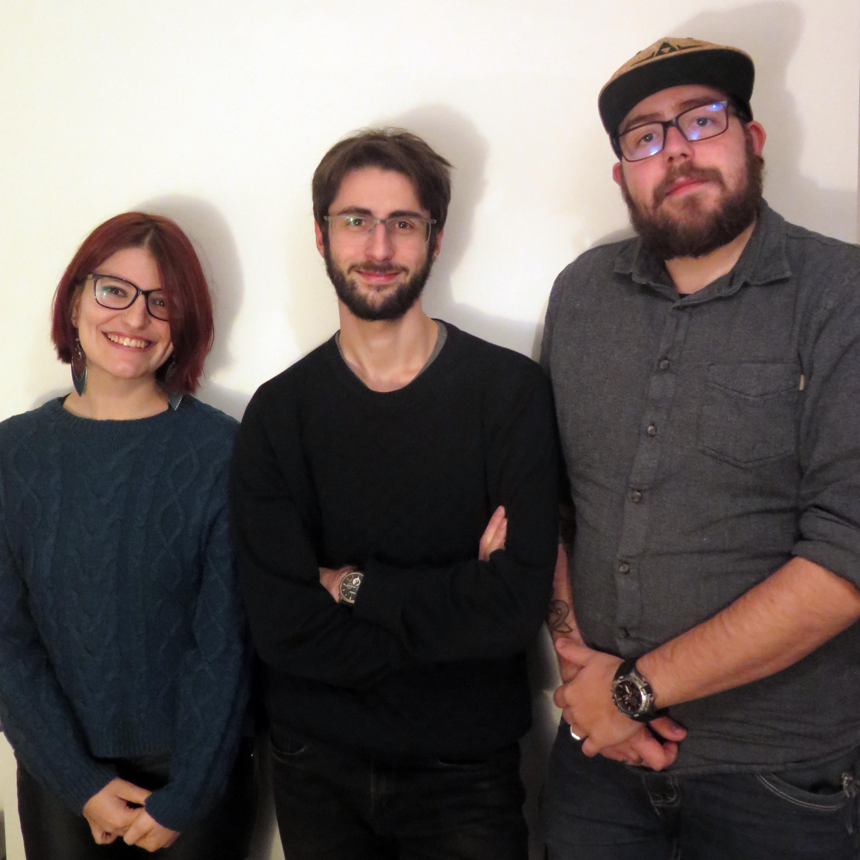 Les débateurs de Super Joute Royale : Justine, Hugo et Guillaume