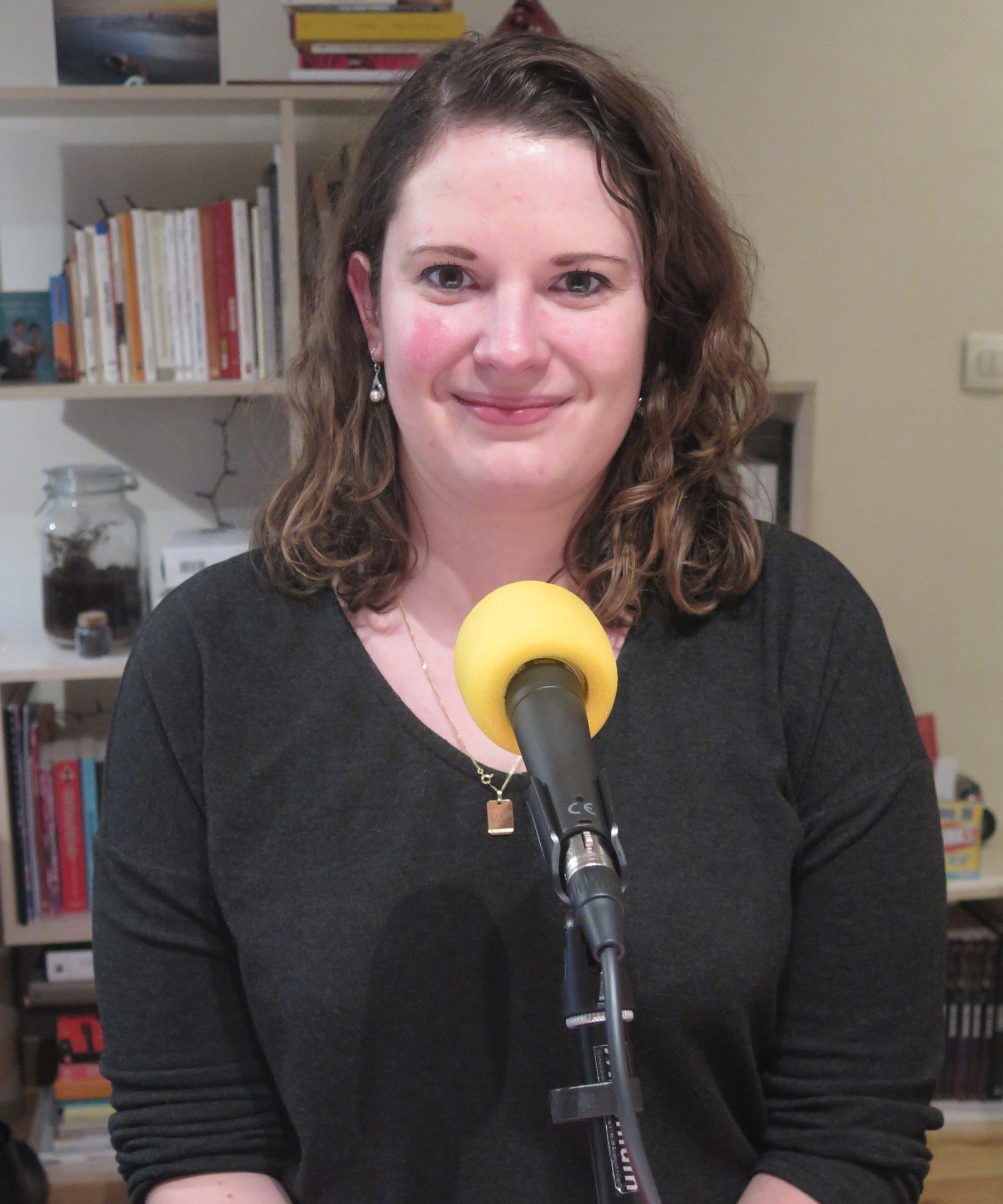 Aurélie Perret au micro de Passion Modernistes