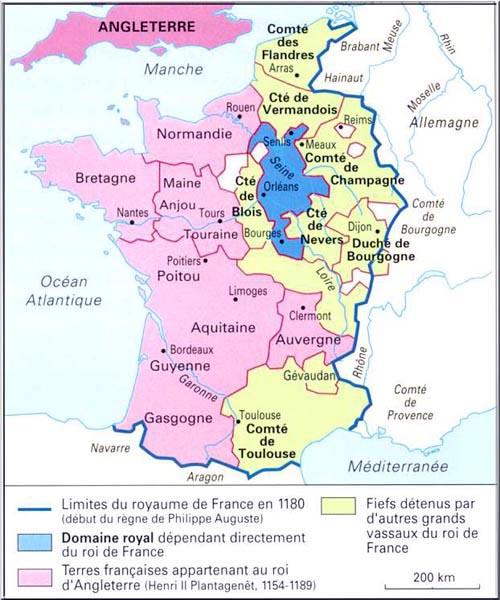 La France au XIIème siècle