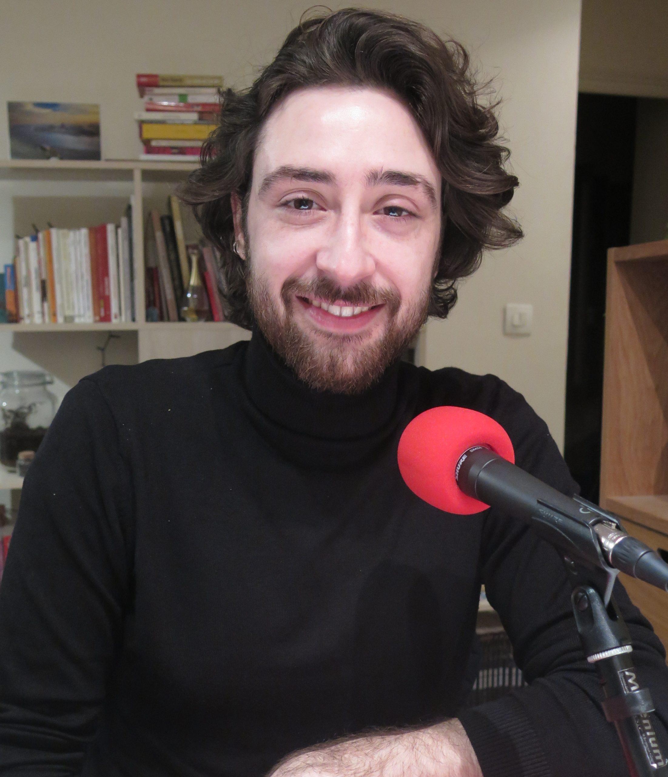 Axel Moulinier au micro de Passion Modernistes