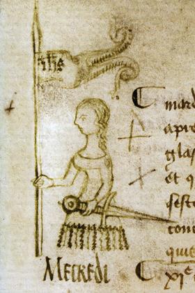 Seule représentation contemporaine connue de Jeanne d'Arc