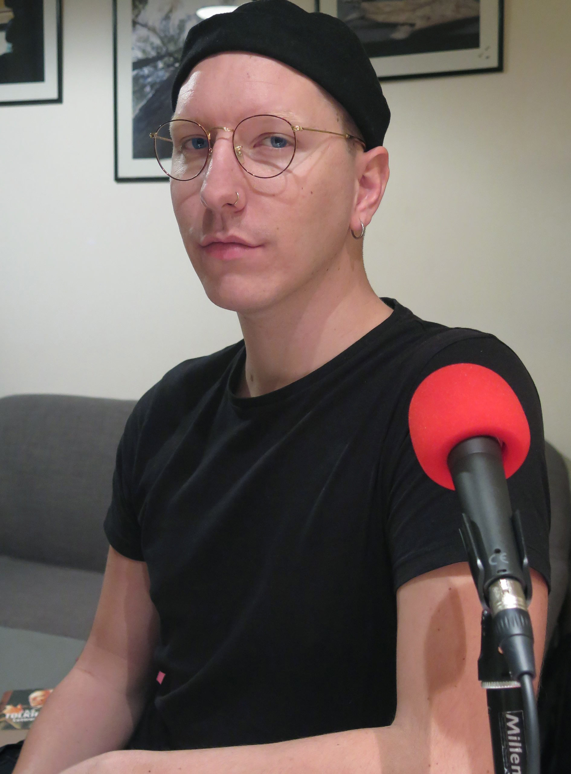 Floryan Varennes au micro de Passion Médiévistes