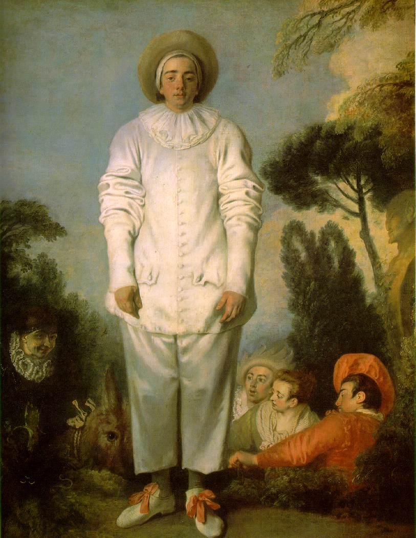 Pierrot, dit autrefois Gilles © 2007 Musée du Louvre / Angèle Dequier
