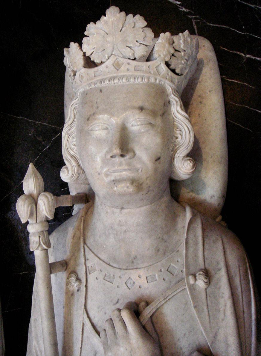 Gisant de Philippe IV à la basilique Saint-Denis