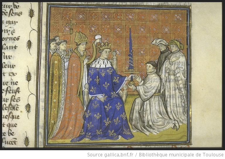 Sacre de Philippe III, Bibliothèque municipale de Toulouse