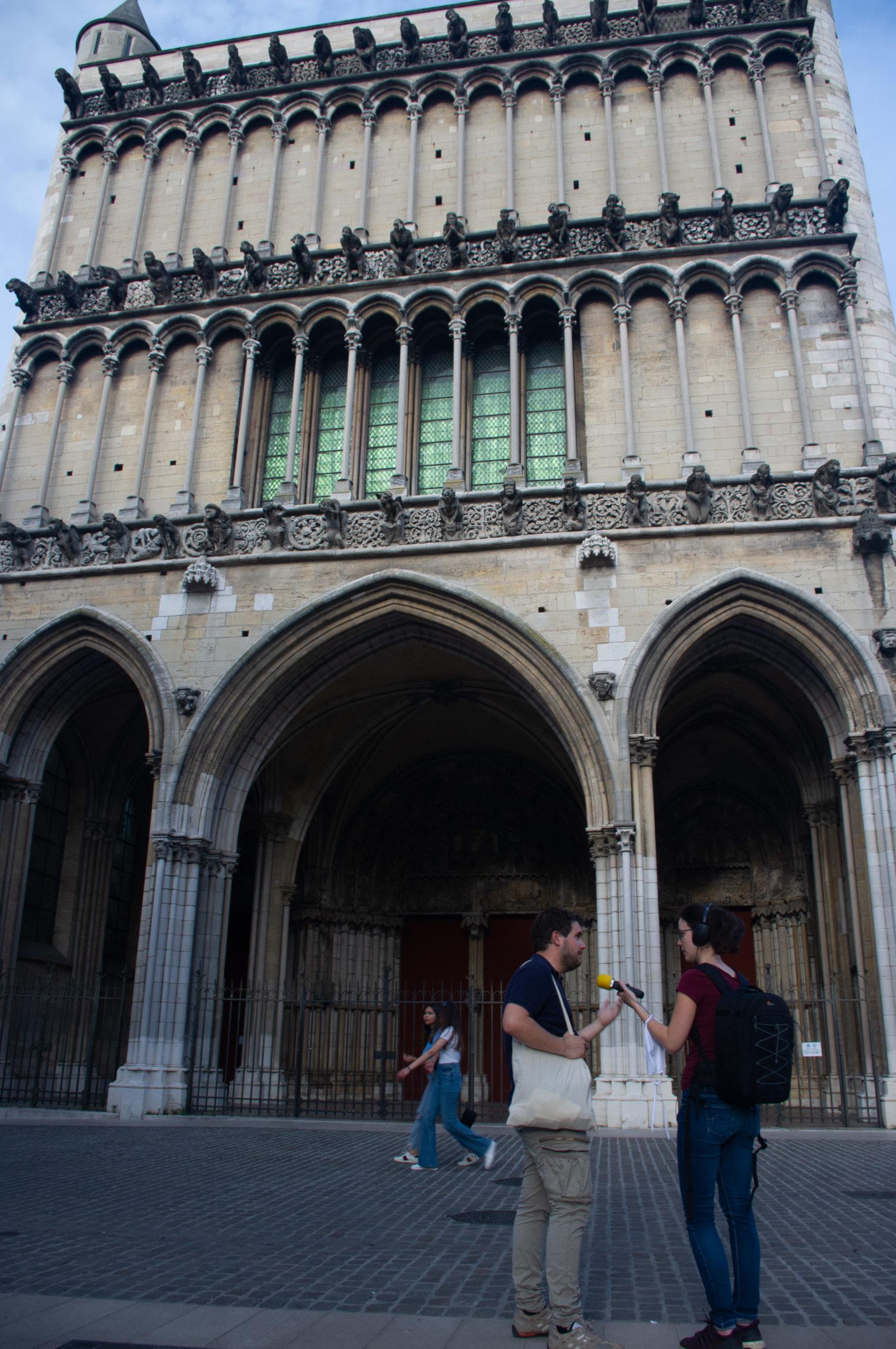 Façade de l'église Notre Dame