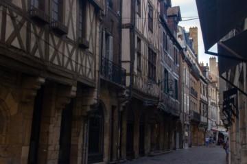 Rues médiévales du centre de Dijon