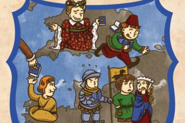 Illustration de l'épisode 46 par l'artiste Din