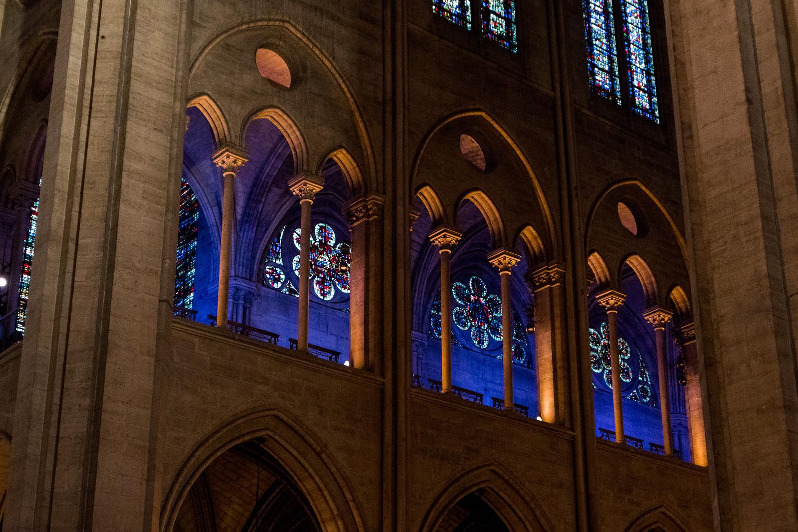 Intérieur de Notre-Dame de Paris (par Marion Kilhoffer)