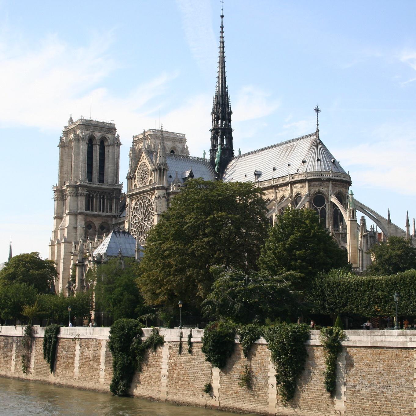 La cathédrale de Notre-Dame de Paris (photo de Marion Kilhoffer)