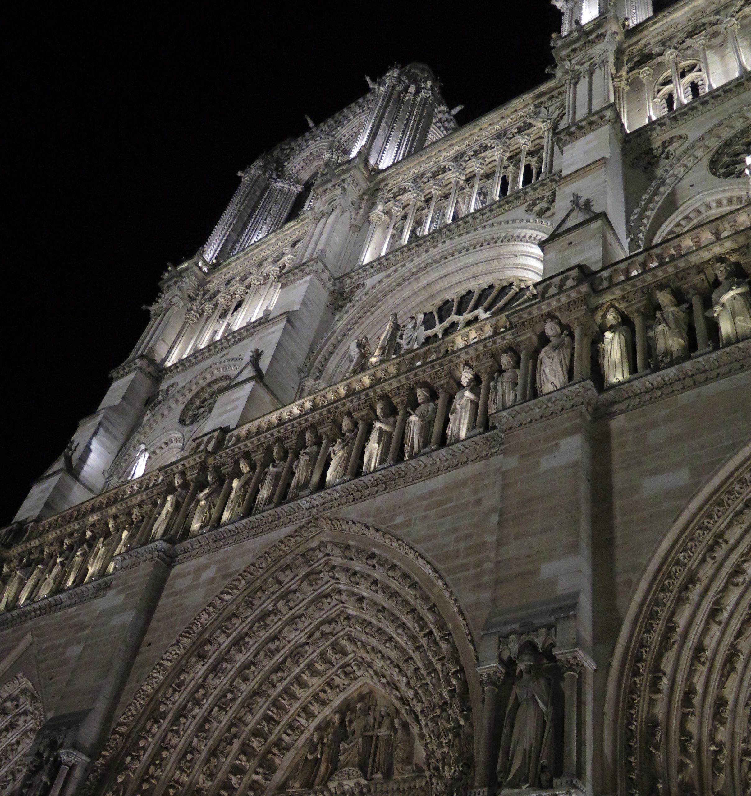 Notre-Dame de Paris en février 2017