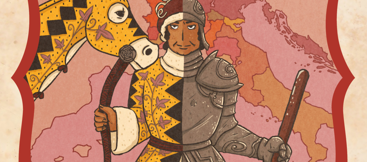 Illustration de l'épisode 47 par l'artiste Din