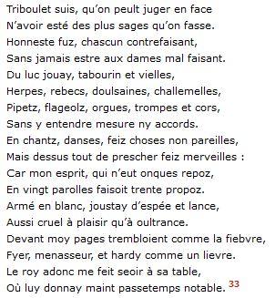 Jean Marot, Les Deux Recueils, éd. cit., p. 22, v. 1-18.