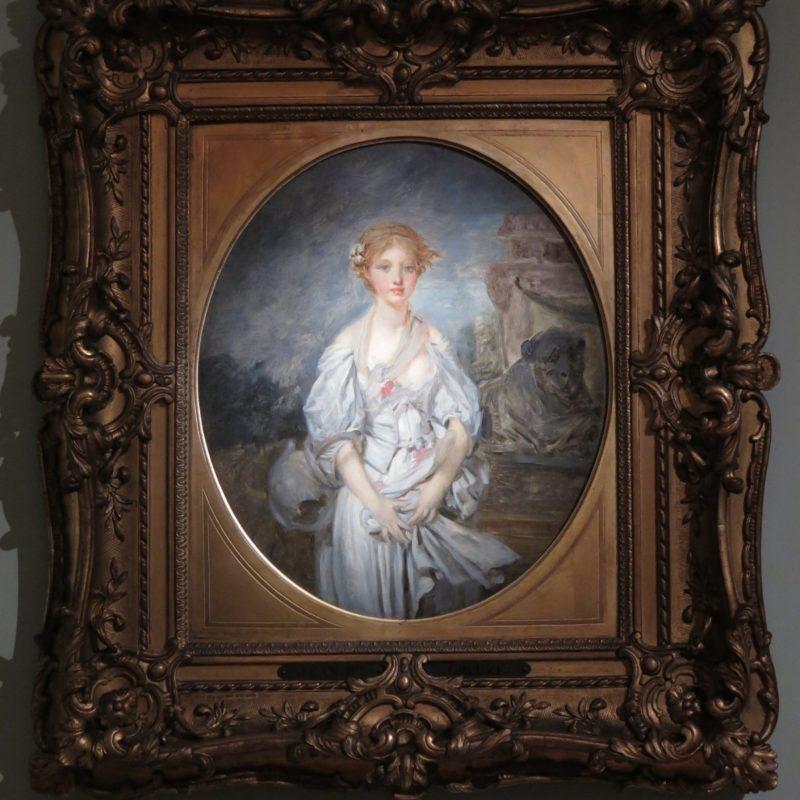 Gabriel de Saint-Aubin, L'Académie particulière, huile sur toile, Strasbourg, musée des Beaux-Arts © Musées de Strasbourg