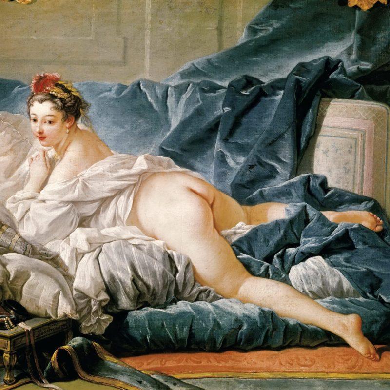 François Boucher (1703-1770), Odalisque brune, 1745 © RMN-Grand Palais (musée du Louvre)