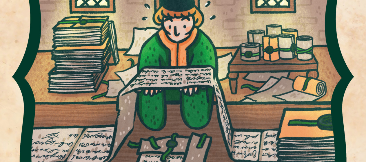 Illustration de l'épisode 51 par Din