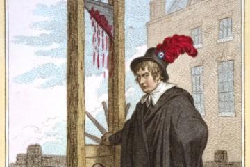 """Gillray James (Graveur) et Humphrey Hannah (Editeur), """"Le bourreau"""", n°6, estampe, 1798, CC0 Paris Musées / Musée Carnavalet."""