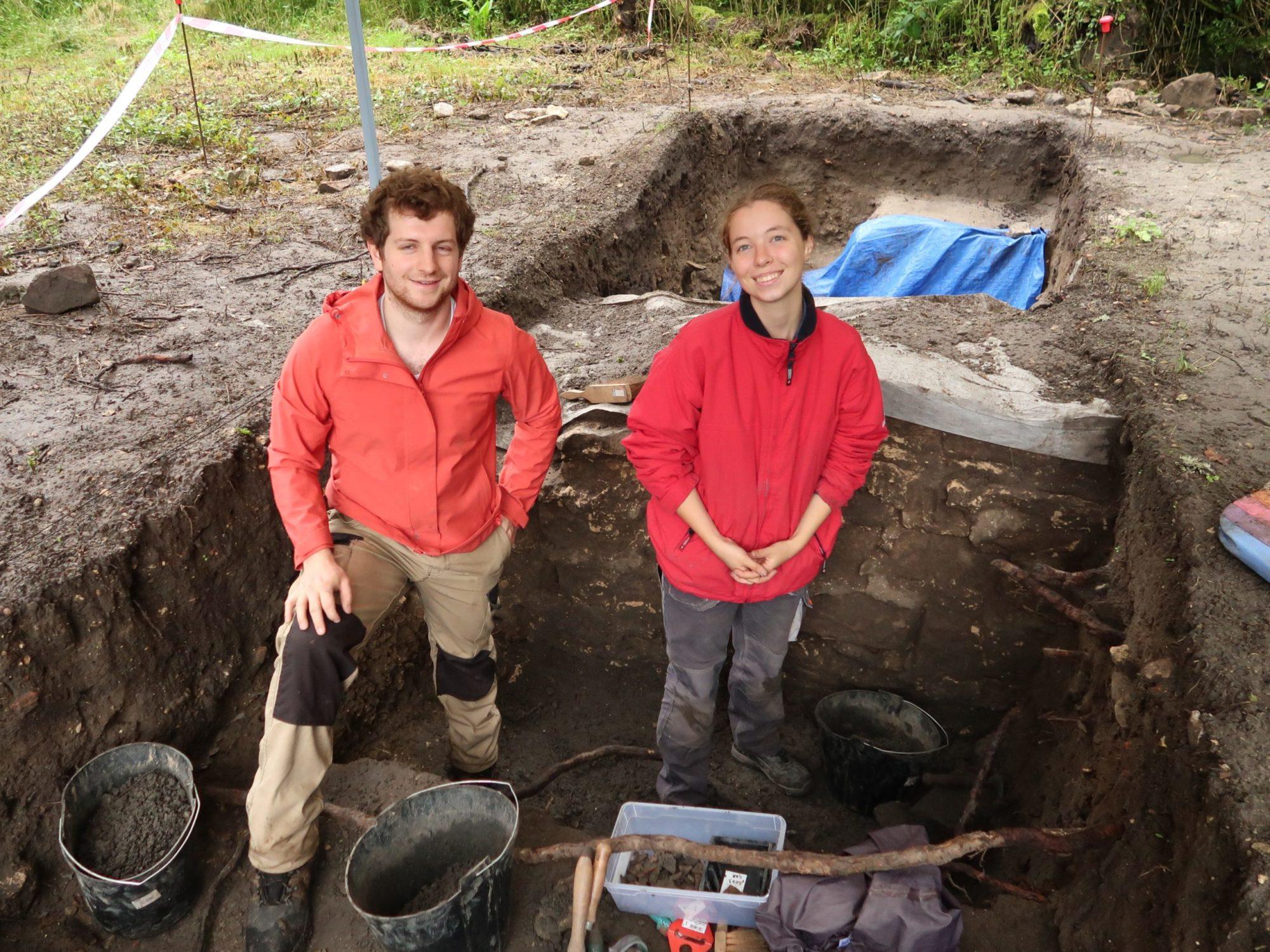 Mathias et Louane dans le secteur 6