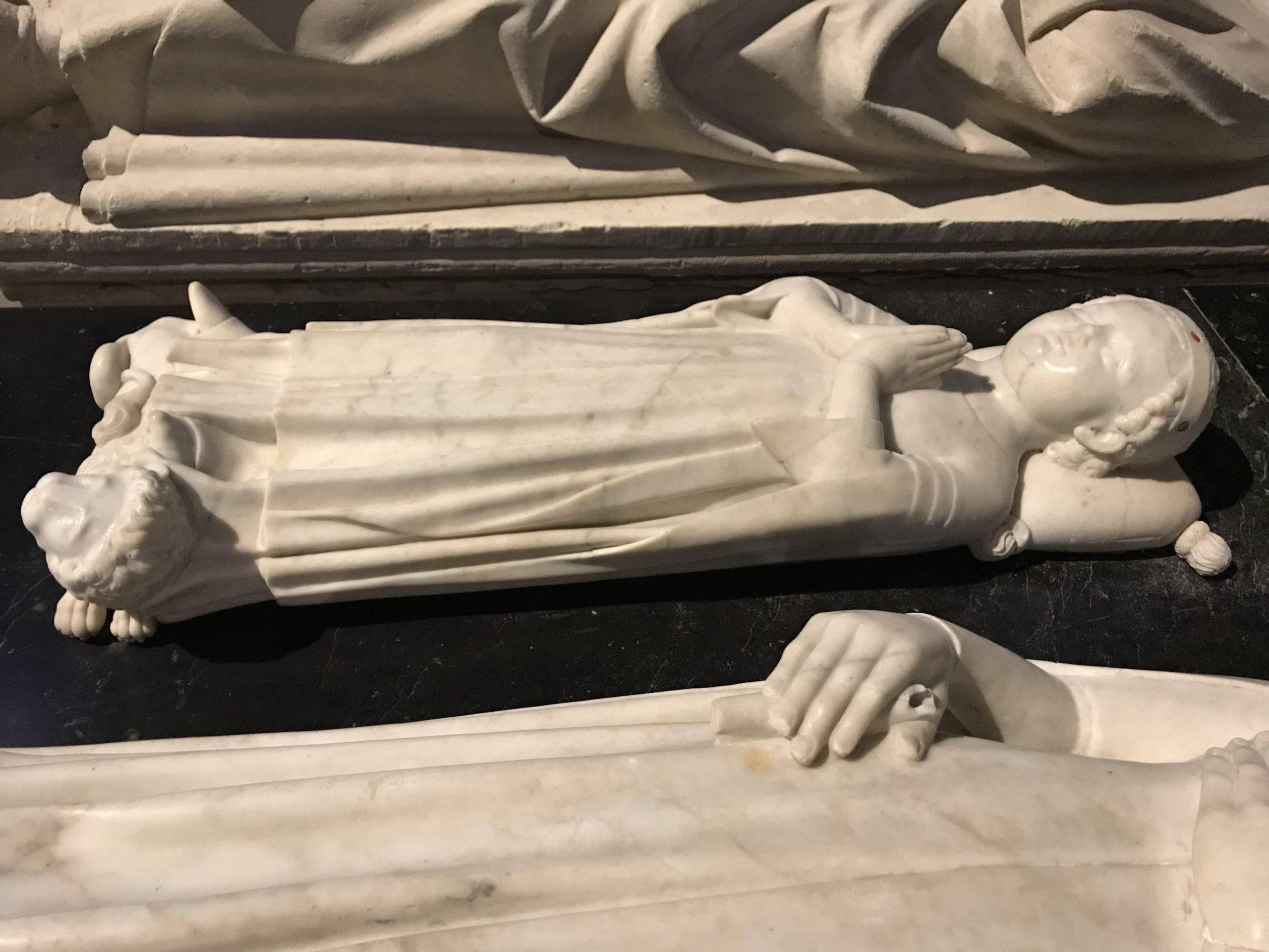 Le gisant de Jean Ier le Postume à la Basilique Saint Denis
